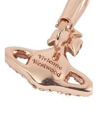 Vivienne Westwood - Pink Grace Bas Relief Swarovski Orb Earrings - Lyst