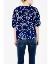 M.i.h Jeans - Blue Rico Top - Lyst