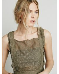 Free People | Green Endless Summer Womens Moody Moon Top | Lyst