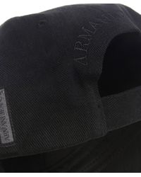 Armani Jeans | Black Logo Cap for Men | Lyst