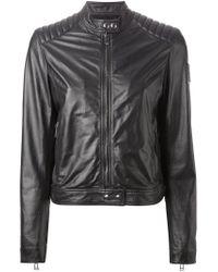 Belstaff - Black Biker Jacket - Lyst