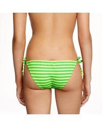 J.Crew | Green Sailor-stripe Underwire Swing Top | Lyst