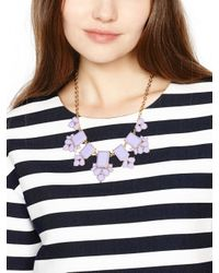 kate spade new york - Purple Daylight Jewels Necklace - Lyst