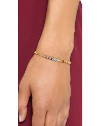 Astley Clarke - Metallic Rainbow Cosmos Biography Bracelet - Gold/rainbow - Lyst