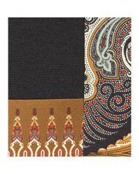 Etro - Multicolor Printed Wool-Blend Dress - Lyst