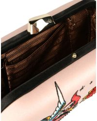 Love Moschino | Pink Clutch | Lyst