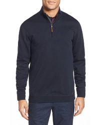 Ted Baker | Blue 'topcoat' Modern Slim Fit Pullover for Men | Lyst