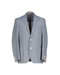 Corneliani - Blue Blazer for Men - Lyst