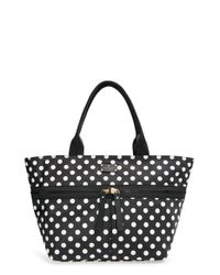 kate spade new york | Black 'clark Court - Arabella' Nylon Tote | Lyst