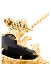 Alexander McQueen | Metallic Salamander Pendant Necklace | Lyst