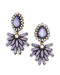 BaubleBar | Purple Tiffany Tear Drops | Lyst