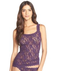 Hanky Panky | Green 'signature Lace' Camisole | Lyst