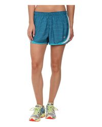 "New Balance | Blue Accelerate 2.5"" Printed Short 