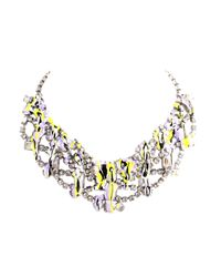 Tom Binns | Metallic Marbled Necklace | Lyst