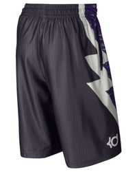 "Nike | Purple Men's Kevin Durant Kd Klutch Elite Basketball 11"" Shorts for Men 