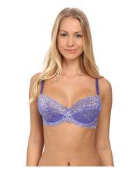 Wacoal - Blue Embrace Lace Underwire Bra 65191 - Lyst