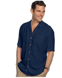 Tommy Bahama - Blue Macy's Exclusive Bird It Through The Grapevine Silk Shirt for Men - Lyst