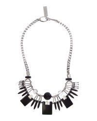 Max Mara | Black Gilbert Statement Necklace | Lyst