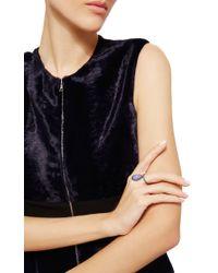 Nina Runsdorf | Blue Chalcedony Flip Ring | Lyst