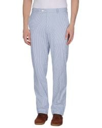 Luigi Bianchi Mantova | Blue Casual Trouser for Men | Lyst