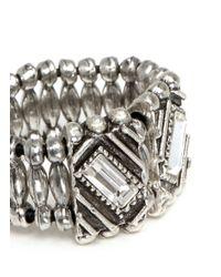 Philippe Audibert - Metallic Loa Ethnic Stone Ring - Lyst