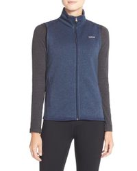 Patagonia | Blue Better Sweater Fleece Vest | Lyst