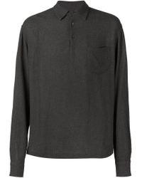 Barena - Brown Button Collar Shirt for Men - Lyst
