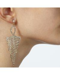 John Lewis - Metallic Chandelier Earrings - Lyst