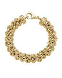Lord & Taylor | 14k Yellow Gold Mixed Link Bracelet | Lyst