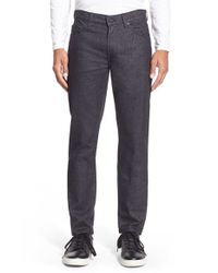 7 For All Mankind - Blue 'slimmy' Slim Fit Pants for Men - Lyst