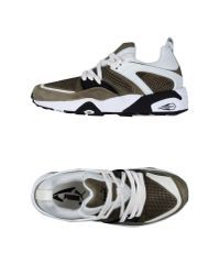 PUMA | Green Low-tops & Trainers for Men | Lyst