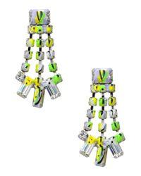Tom Binns - Green Earrings - Lyst