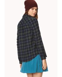 Forever 21 - Blue Classic Flannel - Lyst