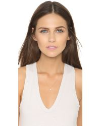 Tai - White Freshwater Cultured Pearl Necklace - Lyst