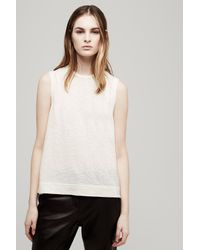 Rag & Bone - Natural Robin Tank - Lyst
