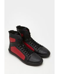 Forever 21 - Zippered High-top Sneakers for Men - Lyst