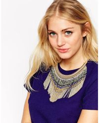 ALDO - Multicolor Masulda Tassel Collar Necklace - Lyst