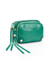 BOSS Orange - Green Leather Mini Bag Revillac - Lyst