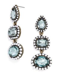 BaubleBar | Blue 'duster' Drop Earrings | Lyst