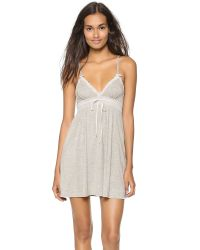 Juicy Couture | Gray Sleep Essential Nightgown | Lyst
