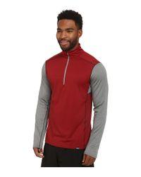 Patagonia | Red Cap Midweight Zip Neck for Men | Lyst