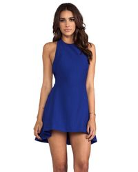 Cameo - Blue Slow Cruel Dress - Lyst