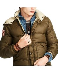 Denim & Supply Ralph Lauren - Green Quilted Ripstop Down Jacket for Men - Lyst