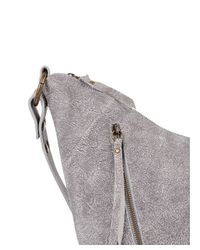 Chen & Derington - Gray Distressed Leather Hobo - Lyst