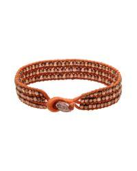 DIESEL   Orange Bracelet   Lyst