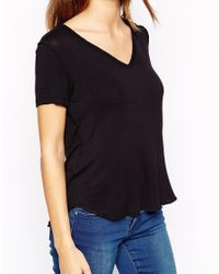 ASOS | Black Petite The New Forever T-shirt | Lyst