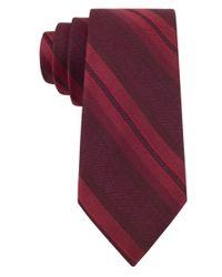 Calvin Klein | Purple Silk-blend Tie for Men | Lyst
