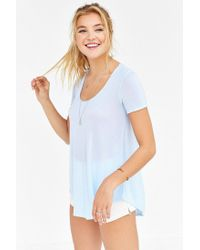Truly Madly Deeply - Blue Willow Tunic Top - Lyst