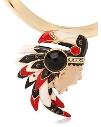 Schield - Metallic Indian Necklace - Lyst
