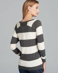 Joie | Black Sweater Bronx Stripe | Lyst